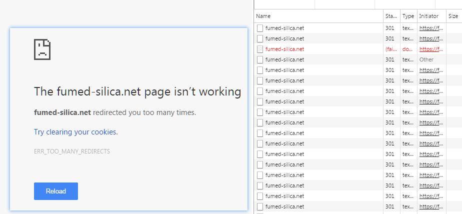 Cloudflare Flexible SSL导致页面循环重定向